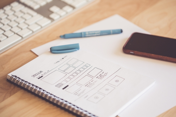 Wireframing - Photo by picjumbo.com from Pexels